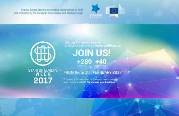«START-UP EUROPE WEEK 2017 THESSALONIKI» Παρασκευή 10 Φεβρουαρίου, 2-5μμ, στο Αμφιθέατρο του City College
