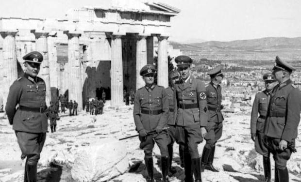 Η γερμανική εισβολή στην Αθήνα, 27 Απριλίου 1941