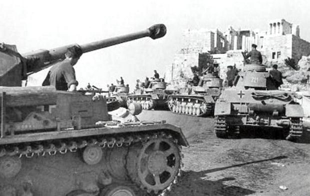 «Η γερμανική εισβολή στην Αθήνα, 27 Απριλίου 1941»