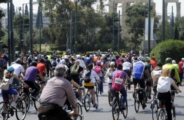 Ξεκίνησαν οι εγγραφές για τον 24ο Ποδηλατικό Γύρο της Αθήνας