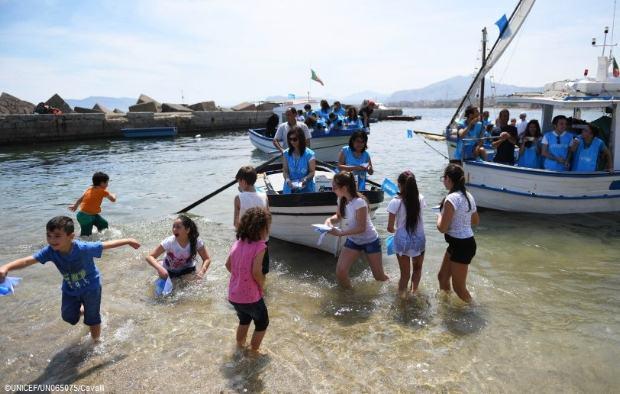 UNICEF – Τουλάχιστον 200 παιδιά χάθηκαν στη θάλασσα προσπαθώντας να φτάσουν στις Ιταλικές ακτές