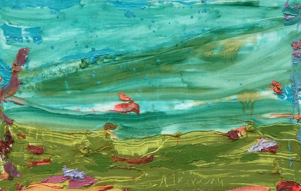 «Τα τοπία του Νοτιά» ατομική έκθεση της εικαστικού Αναστασίας Γκινάκη στη Δημοτική Πινακοθήκη Κέρκυρας