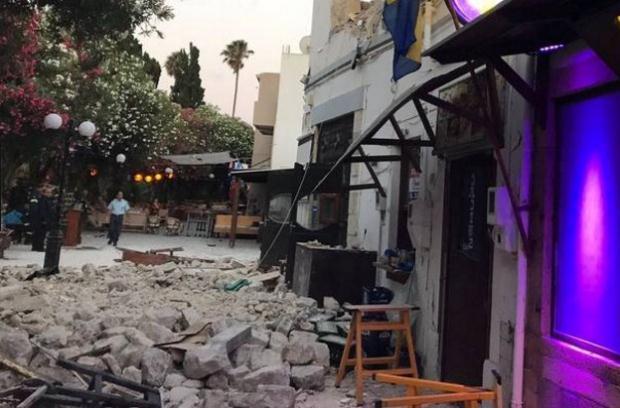 Ισχυρός σεισμός έπληξε την Κω – Δύο οι νεκροί και περισσότεροι από εκατό οι τραυματίες