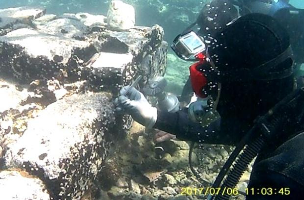Πιλοτικό πρόγραμμα συντήρησης ενάλιων αρχαιολογικών καταλοίπων στην Παλαιά Επίδαυρο