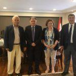 Συνάντηση της Προέδρου της UNICEF Ελλάδος με τον Πρέσβη του Ιράκ στην Αθήνα