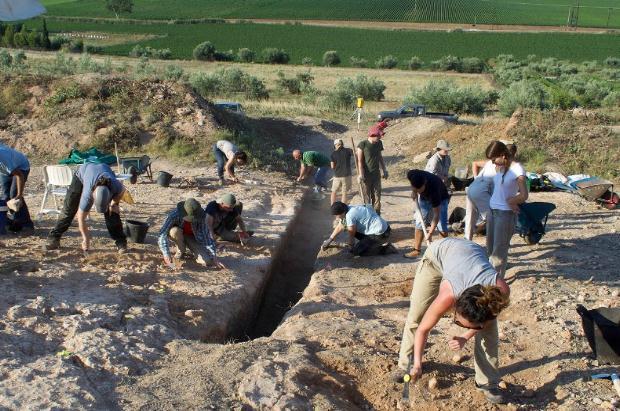 Ανακάλυψη μυκηναϊκού λαξευτού τάφου στο Προσήλιο του Δήμου Λεβαδέων