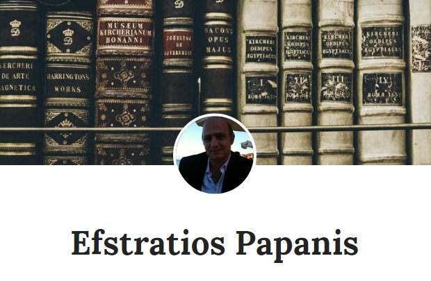 Η ηλεκτρονική βιβλιοθήκη της ιστοσελίδας Efstratios Papanis