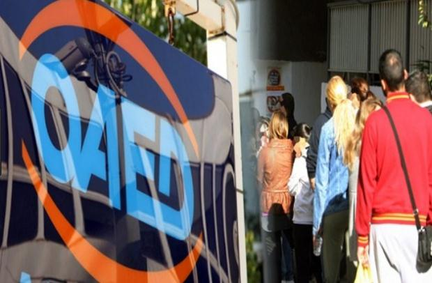 Δημόσια Πρόσκληση του ΟΑΕΔ για την απασχόληση 5.066 ανέργων