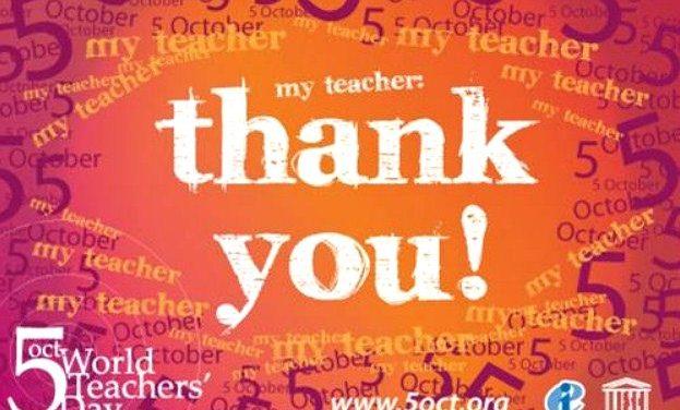 Παγκόσμια Ημέρα Εκπαιδευτικών | 5 Οκτωβρίου