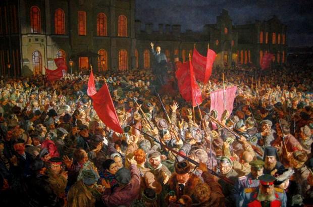 «Η Οκτωβριανή επανάσταση» της Αντιγόνης Καρύτσα