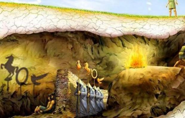 «Το Σπήλαιο του Πλάτωνα, το Φως και ο φιλόσοφος» του Γιώργου Μέρκατα