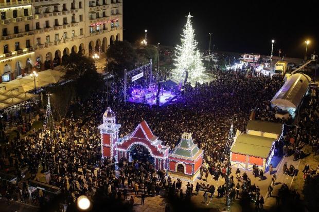 Χριστούγεννα 2017 στην Πλατεία Αριστοτέλους – Το πρόγραμμα των εκδηλώσεων