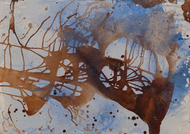Κατερίνα Ριμπατσιού, Άτιτλο oil on canvas, 50X65cm