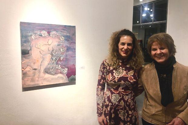 Δεκαέξι έργα της βραβευμένης εικαστικού Αναστασίας Γκινάκη στο Baden της Ελβετίας