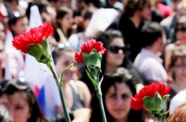 Συγκεντρώσεις της ΓΣΕΕ για τον εορτασμό της Εργατικής Πρωτομαγιάς