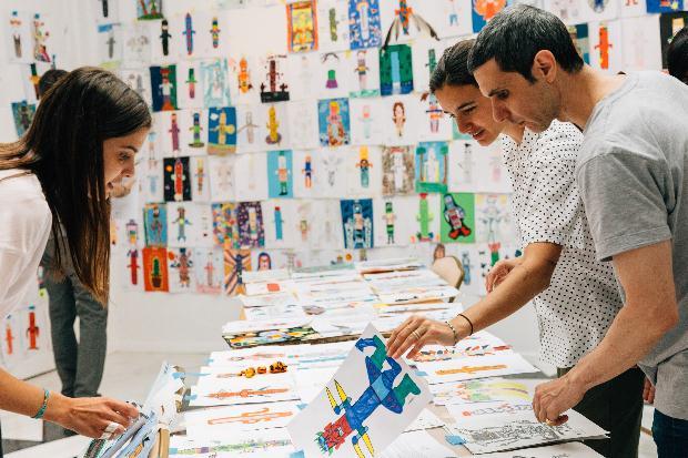 Έκθεση παιδικής ζωγραφικής στο ΜΚΤ με τίτλο: «Δες το ειδώλιο αλλιώς»!