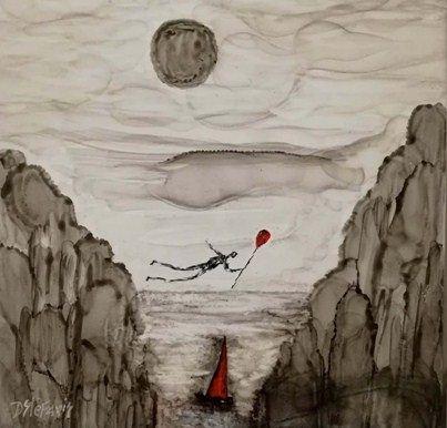 Ζωγραφικό έργο του Δημήτρη Στεφανή