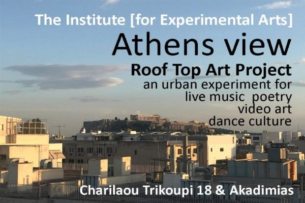 Athens View / Rooftop Art Project
