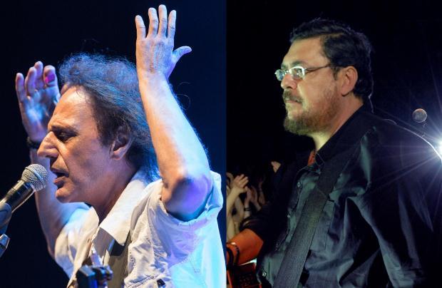 Βασίλης Παπακωνσταντίνου & Λαυρέντης Μαχαιρίτσας στο Φεστιβάλ Μονής Λαζαριστών