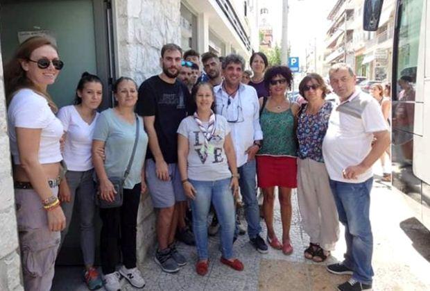 ΟΛΜΕ: Επίσκεψη μελών της KESK και της EGITIM SEN στην Αττική
