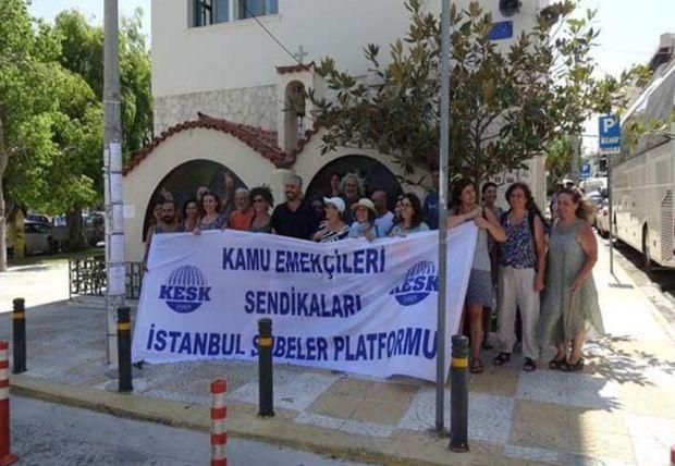 Επίσκεψη μελών της KESK και της EGITIM SEN στην Αττική