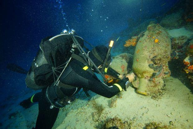 Ολοκληρώθηκε η 4η περίοδος της ενάλιας αρχαιολογικής έρευνας στο αρχιπέλαγος των Φούρνων