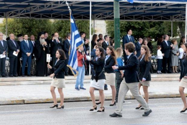 Δηλώσεις του Υπουργού Παιδείας μετά  τη μαθητική παρέλαση της 28ης Οκτωβρίου