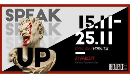 Speak Up – 'Εκθεση Ψηφιακής τέχνης της Κ. Παπαβομβολάκη στο Decadence Club
