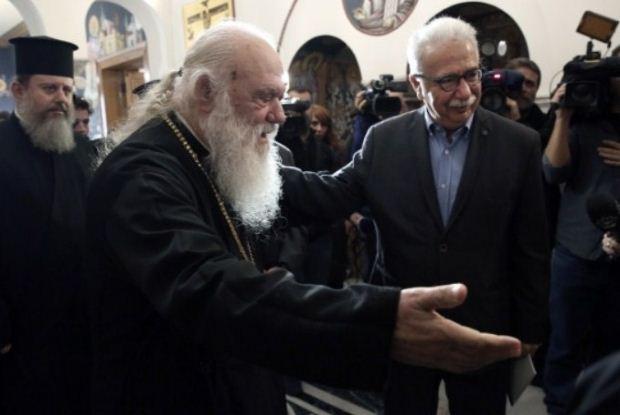 Δηλώσεις Κώστα Γαβρόγλου μετά τη συνάντηση με τον Αρχιεπίσκοπο Ιερώνυμο και Ιεράρχες