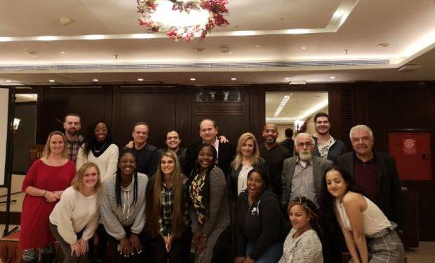 Συνάντηση μελών του ΔΣ της ΔΟΕ με εκπαιδευτικούς και φοιτητές του Πανεπιστημίου της Γεωργίας των ΗΠΑ