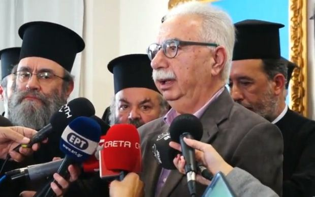 Συνάντηση Γαβρόγλου με εκπροσώπους των κληρικών