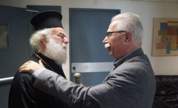 Συνάντηση του Υπουργού Παιδείας με τον Πατριάρχη Αλεξανδρείας και πάσης Αφρικής κ. Θεόδωρο Β'