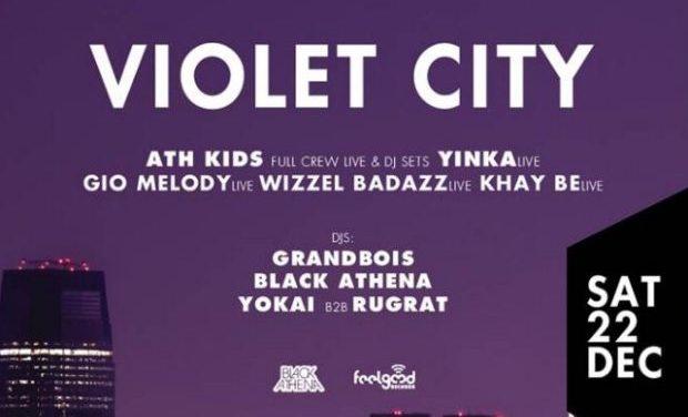 VIOLET CITY Christmas Party: New School Hip Hop/Trap || 22 Δεκεμβρίου @WAVE ATHENS