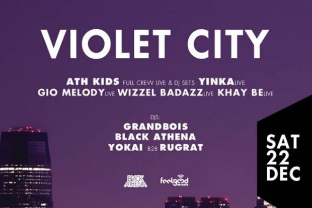 VIOLET CITY Christmas Party: New School Hip Hop/Trap || 22 Δεκεμβρίου @WAVE ATHENS