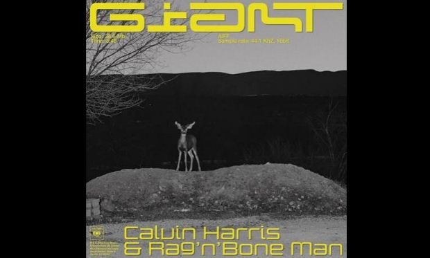 New single // Calvin Harris & Rag 'n' Bone Man – Giant