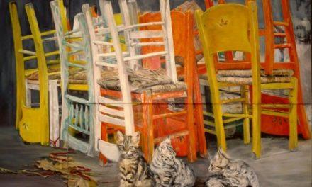 Ατομική έκθεση της ζωγράφου Gilda Frumkin | The Human Passage