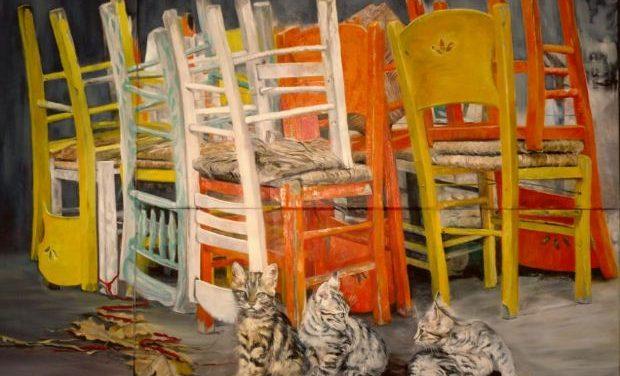 Ατομική έκθεση της ζωγράφου Gilda Frumkin   The Human Passage