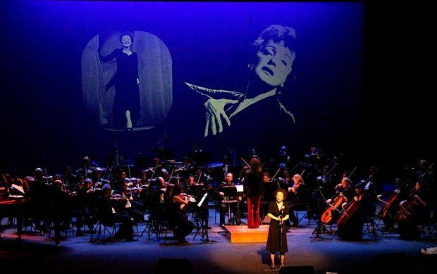 Ενθουσίασε η συναυλία-αφιέρωμα στην Edith Piaf στο Βασιλικό Θέατρο
