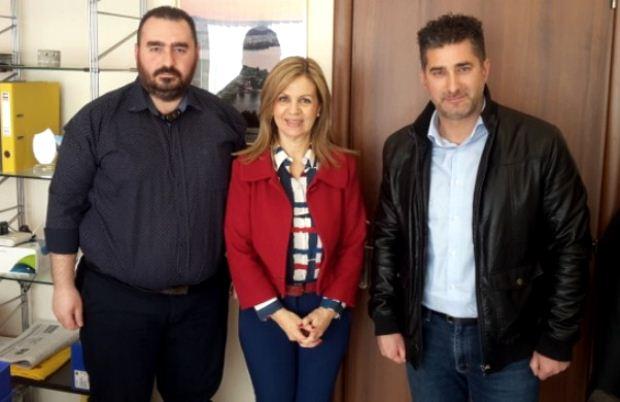 Συνάντηση της Μ. Τζούφη με εκπροσώπους της Πανελλήνιας Ομοσπονδίας Προσωπικού ΕΚΑΒ