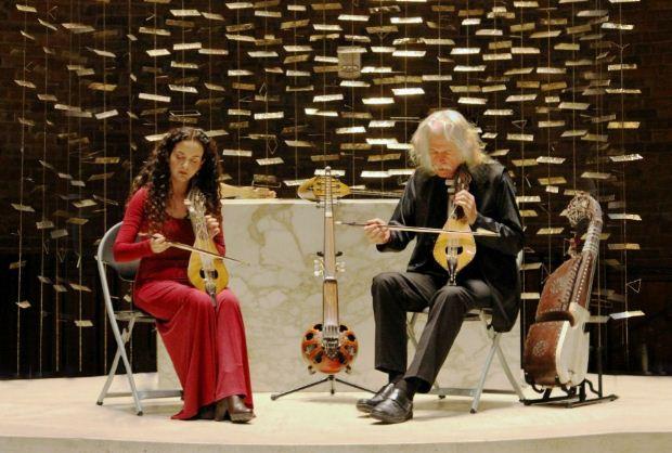 Ross Daly & Kέλυ Θωμά duet Live «LUNAR» στη Θεσσαλονίκη