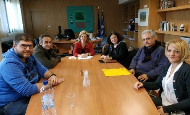 Με τον Σύνδεσμο Κοινωνικών Λειτουργών συναντήθηκε η Υφ. Παιδείας Μ. Τζούφη