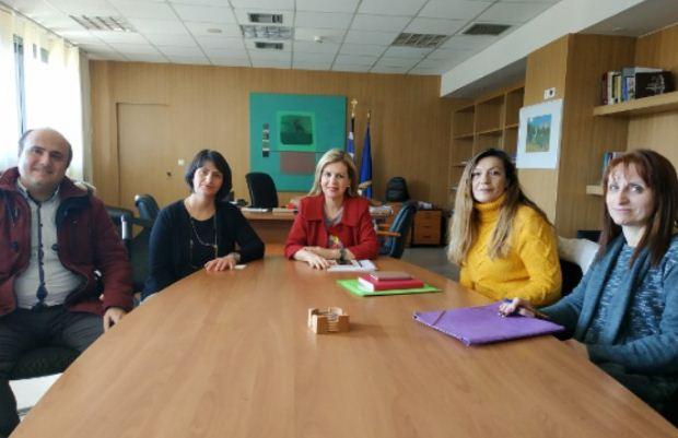 Συνάντηση Μ. Τζούφη με τον Πανελλήνιο Σύλλογο Επισκεπτών Υγείας