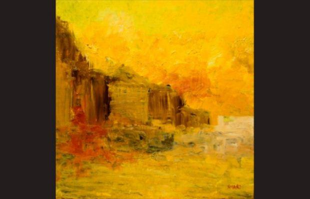 Αστικές Αισθήσεις / Έκθεση ζωγραφικής της Σμαρώς Τζενανίδου στη Θεσσαλονίκη