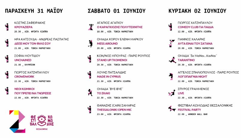 2ο Φεστιβάλ Κωμωδίας Θεσσαλονίκης