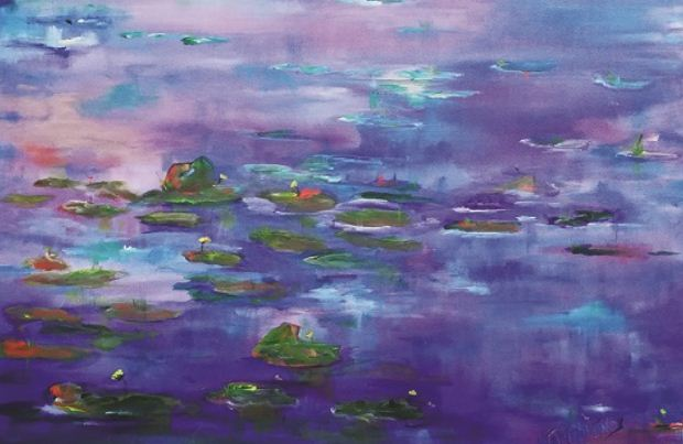 Ένα λουλούδι για ένα Ποίημα – Ομαδική Έκθεση Ζωγραφικής στην Aqua Gallery