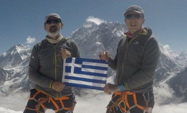 Τo ντοκιμαντέρ του Αντώνη Συκάρη «Οι Έλληνες στην κορυφή του Έβερεστ» στη  Galerie Δημιουργών