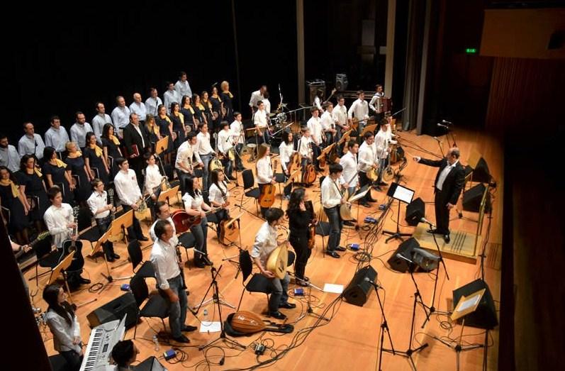 Η Ορχήστρα Νέων του Κέντρου Γραμμάτων και Τεχνών Δίου