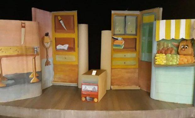 «Ήταν ένα μικρό χαρτάκι» από το Κουκλοθέατρο Αλεξίας Αλεξίου στις «Φιγούρες και Κούκλες»