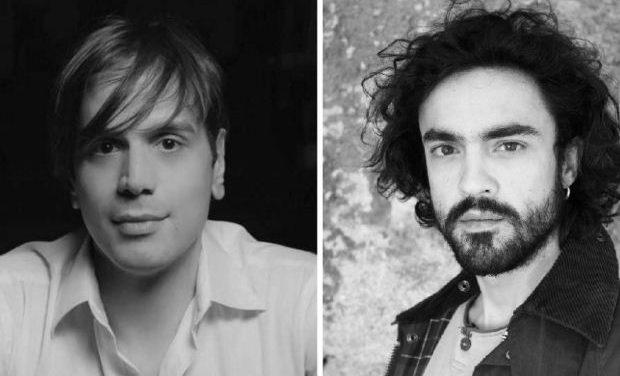 Οι ηθοποιοί Μάνος Καρατζογιάννης και Δημήτρης Κουρούμπαλης στο «Θέατρο στο Πατάρι του ΙΑΝΟΥ»