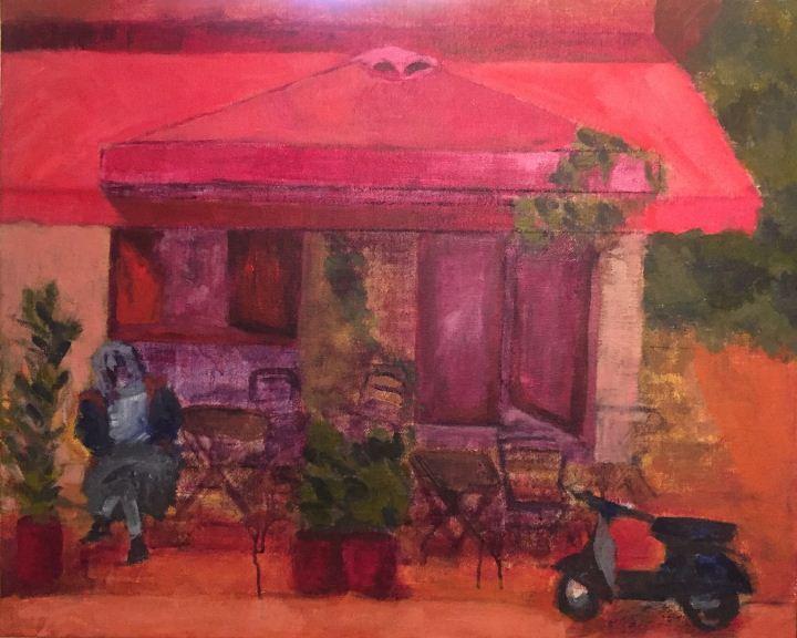 Ρένα Βαλλιανού, Χωρίς τίτλο, 50x60 cm, Ακρυλικά σε καμβά